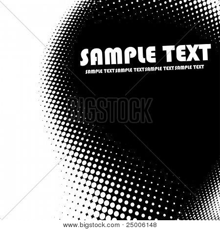 Dots background. Vector.