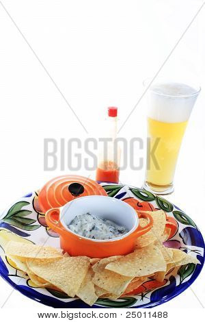 Spicy Spinach Dip With Beer