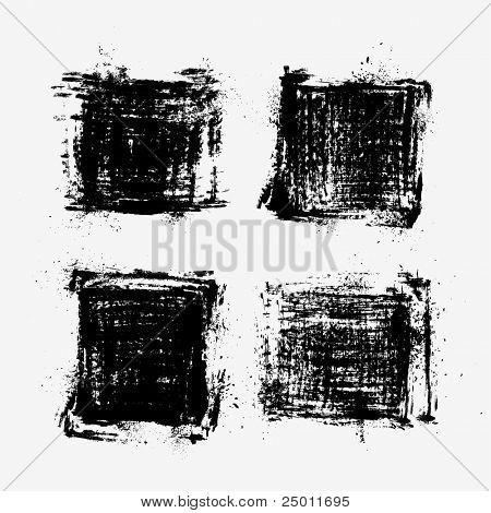 Collection of grunge textures.