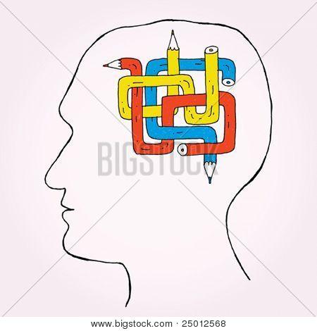 Pencil Brain
