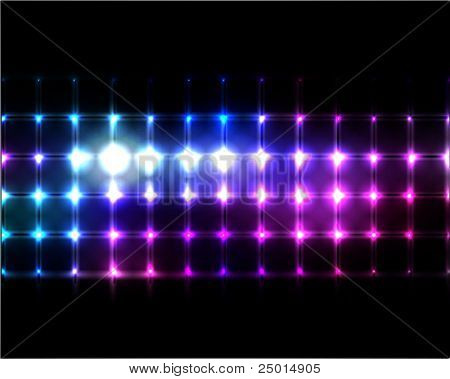 vector lights background