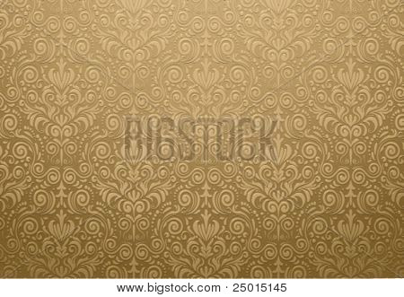golden wallpaper design
