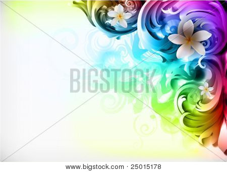 vector illustration - colorful