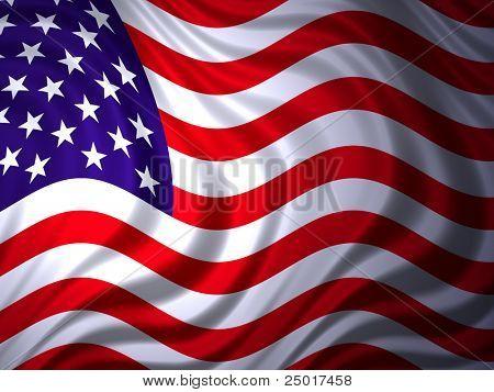 Bandera americana - gratis