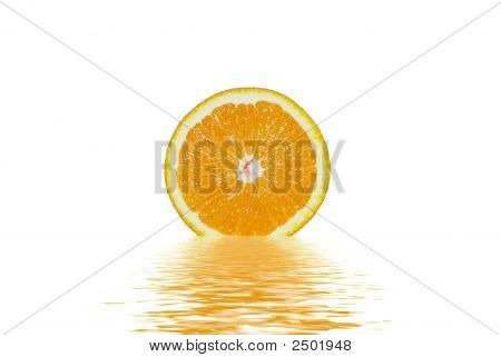 The Reflection Of Orange
