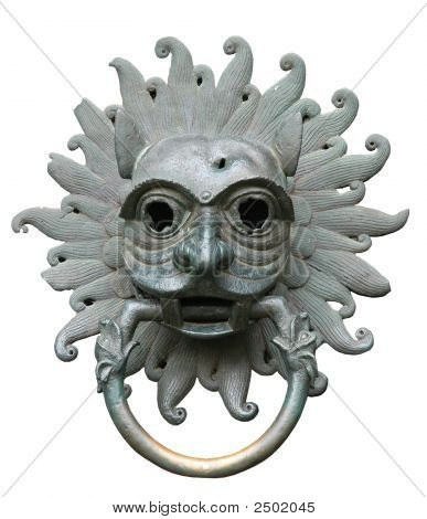 Door Knocker Isolated Clipping Path