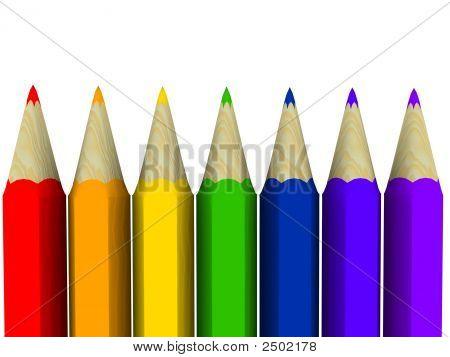Rainbow Art Pencils