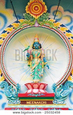 Meenakshi, A Hindu Goddess