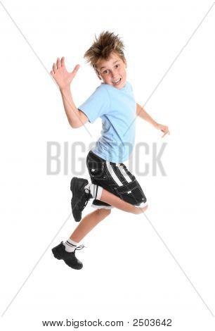 Child Hopping