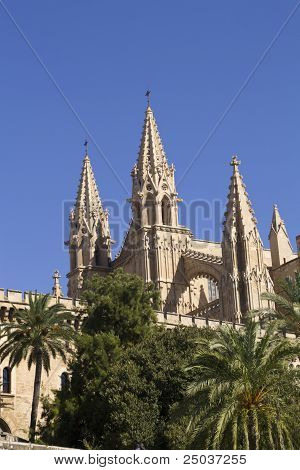 Cathedral In La Palma, Mallorca