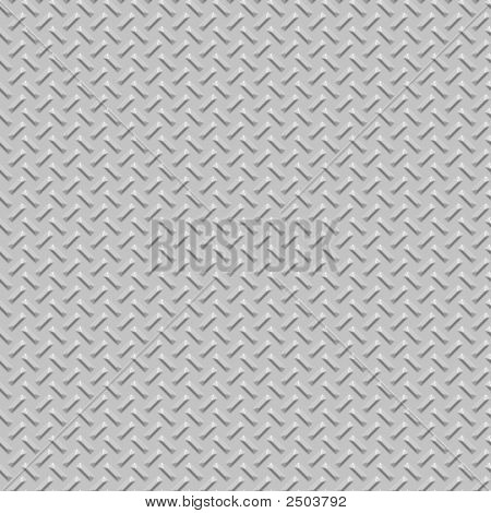 Diamond Plate Metal Seamless Texture
