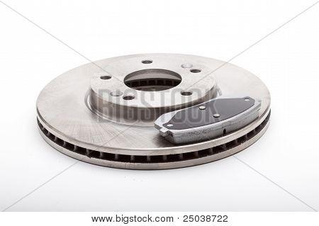 Front Brake Parts Disks and Pads
