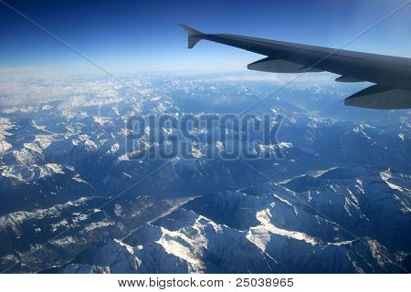 Wing over the Alps