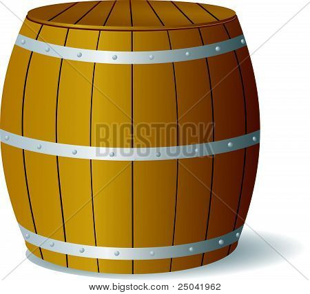 Vector Image Barrel