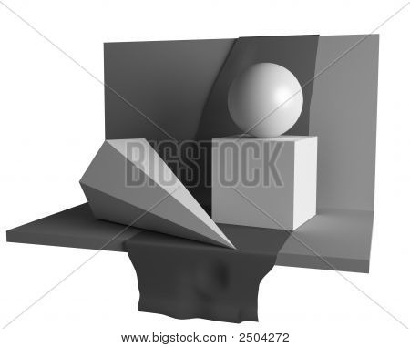 Geometry Still Life Image