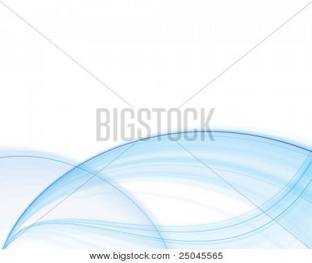 Vector. Abstract blue silky background.