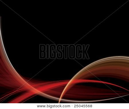 Vector. Abstract red silky background. Free space for you text.