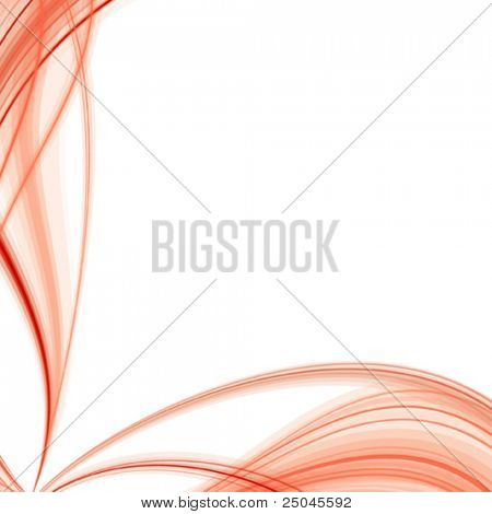 Vector. Abstract red silky background.