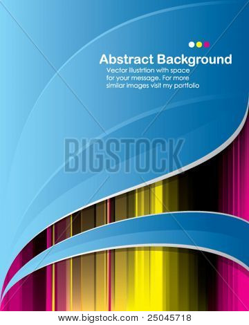 Vector. Abstract background with place for your message