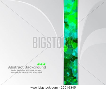 Bright background with random transparent cells. Vector illustration in RGB colors.
