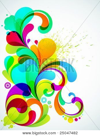 EPS10. Fully editable colorful element for your design