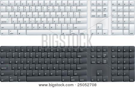 computer keyboard  (vector enable in portfolio)