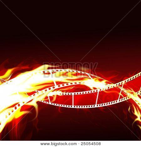Burning film