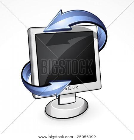 Computer. Data transmission