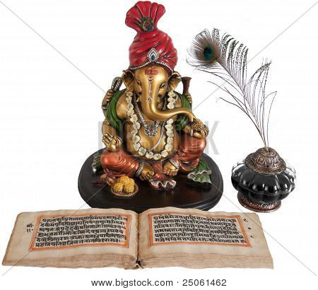 Lord Ganesha- an Indian Idol.