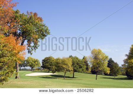 Golf Fairway Sandtrap