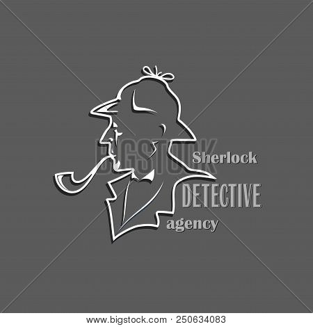 Sherlock Detective Agency Cut Out