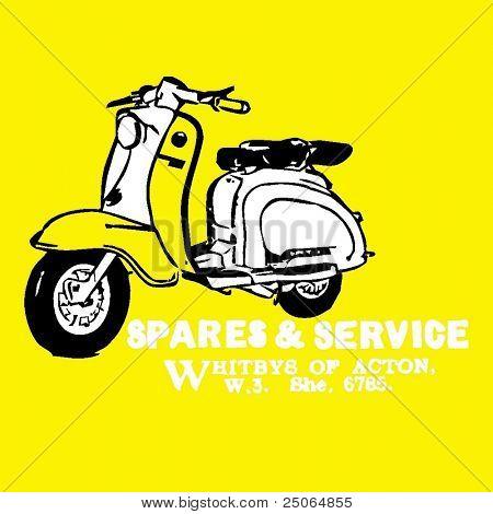vintage scooter