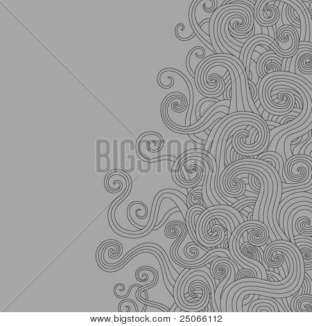 Swirly Waves Background
