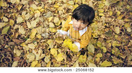 Menino de outono
