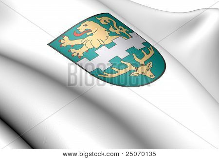 Bergisch Gladbach Coat Of Arms, Germany.