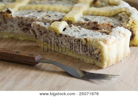 Ricotta Cake.