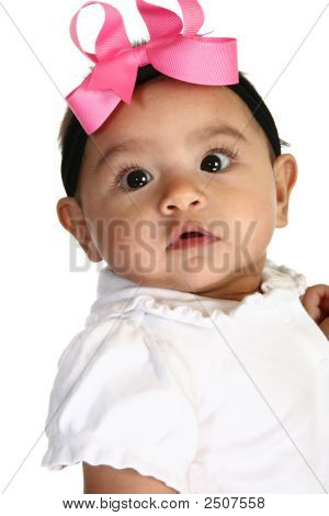Beautiful Hispanic Baby Girl