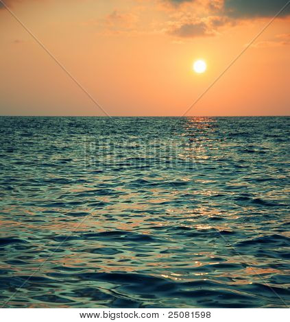 Beautiful Sun And Sea
