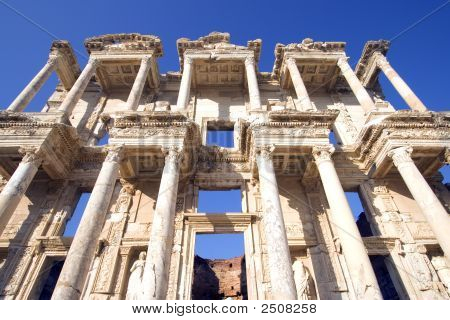 Celsus Library Wide Angle