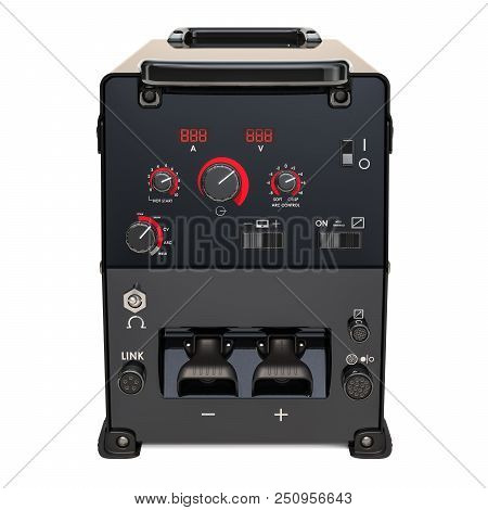 Multiprocess Welder Machine 3d Rendering