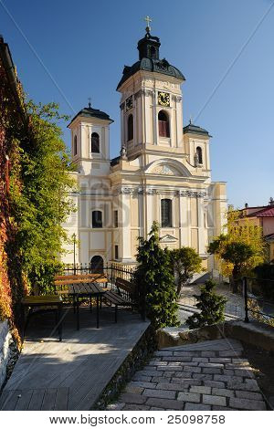Parish church in Banska Stiavnica