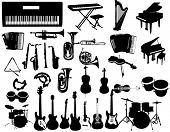 picture of musical instrument string  - Music instruments - JPG