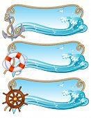 foto of nautical equipment  - Vector illustration  - JPG