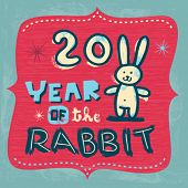foto of rabbit year  - New Year - JPG