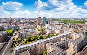Panoramic View At The Potsdamer Platz, Berlin poster