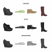 Autumn Black Shoes On A High Platform, Flip-flops Green For Relaxation, Sandy Men Autumn Shoes, High poster