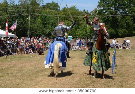Jousting Demonstration