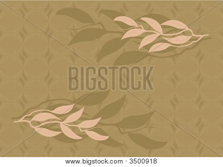 Leaf Pattern Abstract