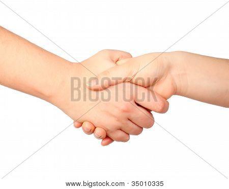 Hand-Symbol, handshake
