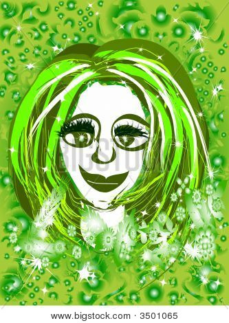Daisy Green Girl
